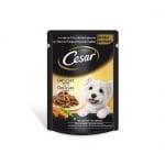 Cesar - Pouch adult пауч за кучета на средна възраст, различни вкусове, 100 гр.