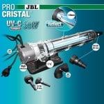 Стерилизатор за аквариуми JBL ProCristal Compact UV-C 36 W - Кристално чиста и здравословна вода