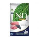 Храна за кучета в зряла възраст от средни и едри породи N&D PRIME Adult Medium & Maxi – Lamb & Blueberry, с агнешко и боровинки, 2.500кг