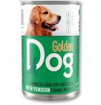 Храна за кучета месо в сос Golden Dog, 1240 гр, различни вкусове
