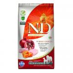 """""""N&D ADULT MED&MAXI PUMPKIN"""" - Пълноценна храна за  кучета от средни и едри породи с  тиква, пиле и нар"""