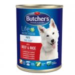 Butchers Life 1200гр - пълноценна храна за кучета - три вкуса