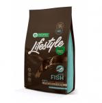 Пълноценна храна за котки Nature`s protection Lifestyle, с бяла риба, без зърно, три разфасовки