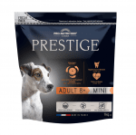 Пълноценна храна за кучета от дребни породи на възраст над 8 години Flatazor Prestige ADULT 8+ MINI , три разфасовки