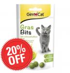 GimCat GrasBits - Трева на таблетки за котки 15 гр.