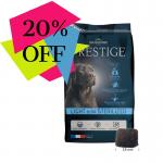 Храна за кучета от всички породи, които са склонни към напълняване и/или кастрирани кучета Flatazor Prestige Adult LIGHT &/OR STERILIZED, две разфасовки