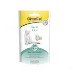 Дентални таблетки за орална грижа GimCat Denta Tabs, 40гр