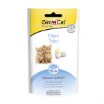 Таблетки за подрастващи котки в подкрепа на растежа GimCat Kitten Tabs, 40гр