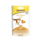 Мулти-витаминни таблетки за котки GimCat Multi-Vitamin Tabs, 40гр