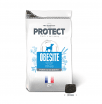 Пълноценна диетична храна за кучета с наднормено тегло Pro-Nutrition Flatazor Protect Obesite, 100гр насипно
