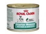 Royal Canin STARTER MOUSSE – пастет за отбиване на подрастващи кученца от всички породи/за бременни и кърмещи кучета