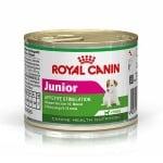 Royal Canin MINI Junior - консерва за подрастващи кучета от дребни породи(1-10кг) до 10мес  0.195кг