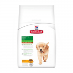 """""""Science Pla Canine Puppy Healthy Developmen Large Breed Chicken"""" - Пълноценна храна с пилешко за подрастващи кученца от едри породи"""