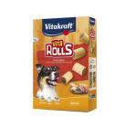 Хрупкави бисквити за кучета с вкусен пълнеж Vitakraft VITA RollS, 400гр