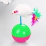 Играчка за котка люлееща се мишка
