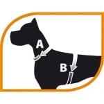 Нагръдник за куче Ferplast CRICKET P- различни размери и цветове