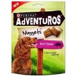 Лакомства за кучета в зряла възраст PURINA ADVENTUROS Nuggets, с Глиганско, 90гр.