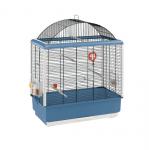 КЛЕТКА ЗА ПТИЦИ 59Х33Х75СМ - подходяща за канари и малки екзотични птици, оборудвана