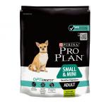 Суха храна за кучета в зряла възраст от дрeбни и мини породи с чувствително храносмилане Pro Plan Small & Mini Sensitive Digestion, с агнешко месо, 3.00кг