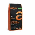 Пълноценна храна за възрастни кучета от средни породи Alleva® Natural, с пиле и тиква, 2.00кг