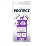 Пълноценна храна за възрастни кучета за предотвратяванена признаците на стареене и/или кучета с намалени физиологични функцииFlatazor Protect Senior+, две разфасовки