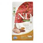N&D QUINOA SKIN & COAT с пъдпъдъче месо - Пълноценна храна за котки при хранителни чувствителности, за поддържане на кожата и козината