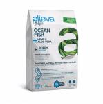 Пълноценна храна за подрастващи кучета от малки породи Alleva® Holistic Puppy Mini, с Океанска Риба + Коноп и Алое вера, 0.800кг
