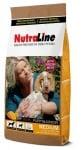 """""""Nutraline Dog MEDIUM PUPPY & JUNIOR"""" - Храна за подрастващи кученца от средни породи"""