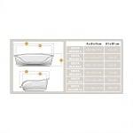 Пластмасово легло SIESTA DELUXE - различни размери и цветове