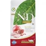 Храна за кастрирани котки в зряла възраст над 1 гoдина N&D Prime Adult Neutered, с пилешко месо и нар, 300гр