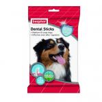 Beaphar Dental Sticks - лакомства за кучета със Спирулина и зелен чай за зъбна хигиена