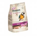 LOLO Premium food for big parrot - Пълноценна храна за голям папагал 750гр