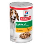 Пълноценна храна за кученца от отбиването до 1г. от всички породи Hill's Science Plan Puppy, 370гр