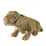 Фигура папиемаше, Кимащо кученце, 22,5 x 9 x 13 cm