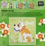 Комплект мозайка с пайети RicoDesign, Куче