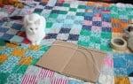 Подготовка на картона за къщичка за котки