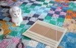 Сглобяване на рамката за къщичката за котки от тениска и закачалка