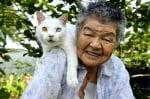 88-годишна баба спасява котка с различни очи, стават неразделни приятелки