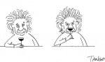 Айнщайн като лъв