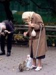 Баба с катеричка