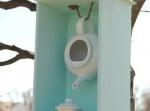 Чайник за къщичка за птици 4