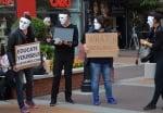 Демонстрация на вегани в София