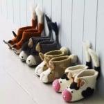 Домашни пантофи с животни