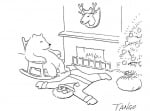 Дядо Коледа като пътека за крака