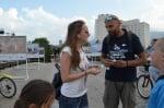 Вижте защо в центъра на София раздаваха сол от Атанасовското езеро