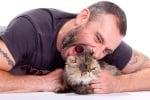 Калин Вельов с котка