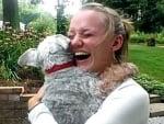 Куче припада от вълнение
