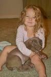 Малка красавица с куче
