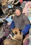 Манао с кучето си