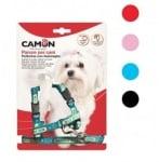 Комплeкт за куче повод + нагръдник, различни цветове